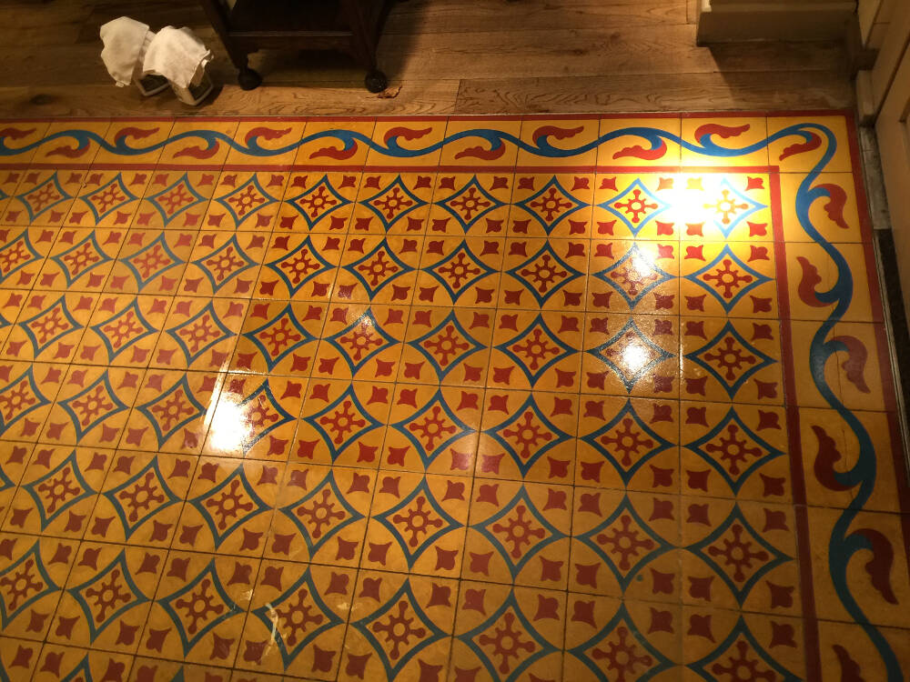 Porcelain Floor Cleaning in London