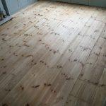 pine floor sanding