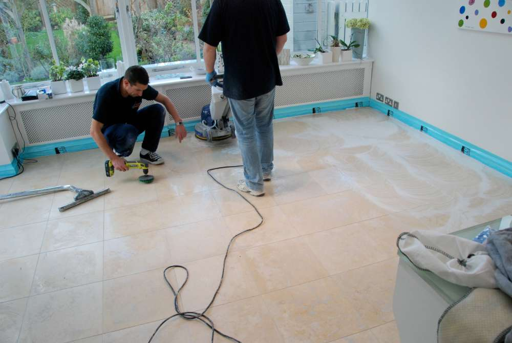 Stone Floor Cleaning and Polishing (12)