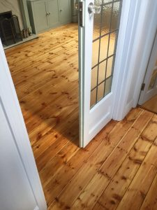 floor sanding and oiling results