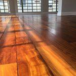 floor sanding - ipe lapacho
