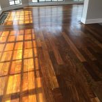 ipe Lapacho floor sanded