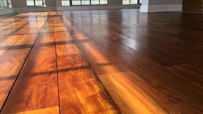 Ipe Lapacho wood floor sanding