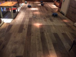 wood flooring cleaning