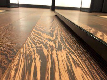 Panga panga floor sanded