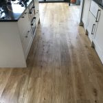 oak floor sanding after 3