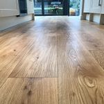 Oak Floor Sanded & Oiled