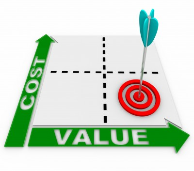 Cost and value